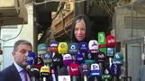 ممثلة الأمم المتحدة: السيستاني يساند تنفيذ إصلاحات ويشكك في جدية النخبة