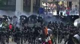 Tear gas hits Hong Kong central business district