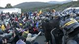 French police disperse Catalan protesters blocking major Spain-France road link