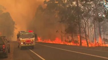 オーストラリア東部で大規模火災の恐れ、非常事態を宣言(字幕・11日)