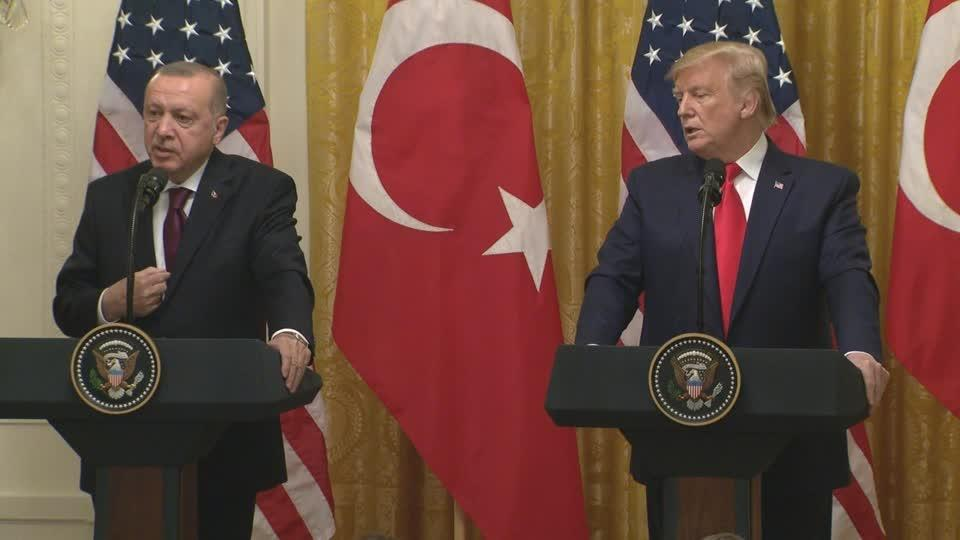 Trump thinks Erdogan has 'great relationship' with the Kurds
