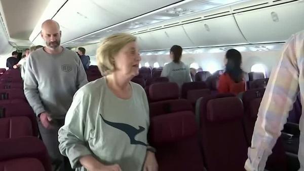 A look inside Qantas' London-Sydney test flight