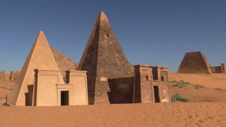 Are Egypt's pyramids about to be toppled by Sudan?