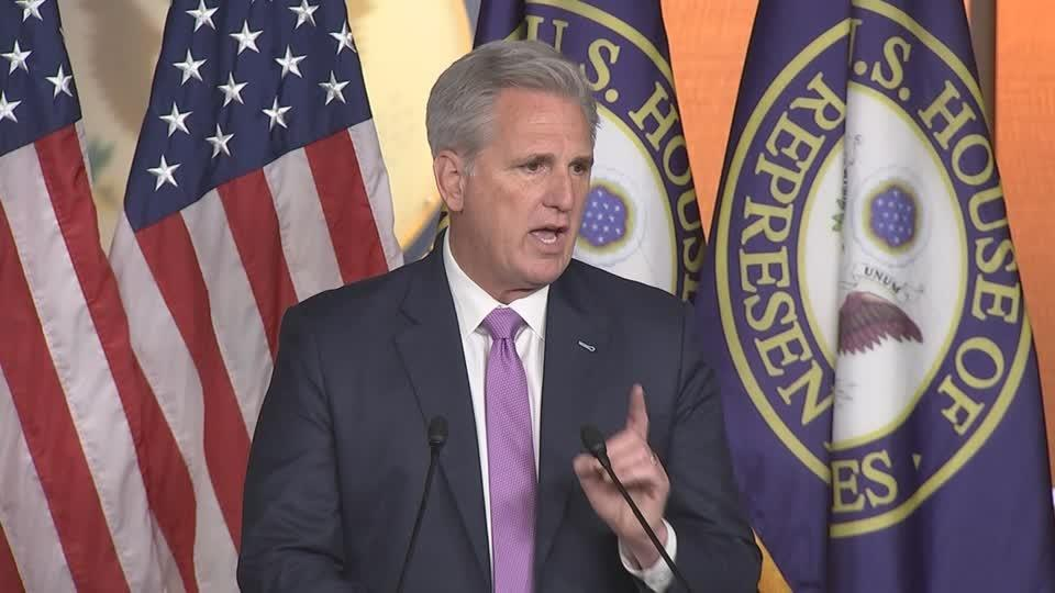 McCarthy: 'It's not a day that history will be proud of'