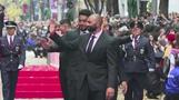 W杯8強のラグビー日本代表がパレード、ファン5万人が祝福(字幕・12日)
