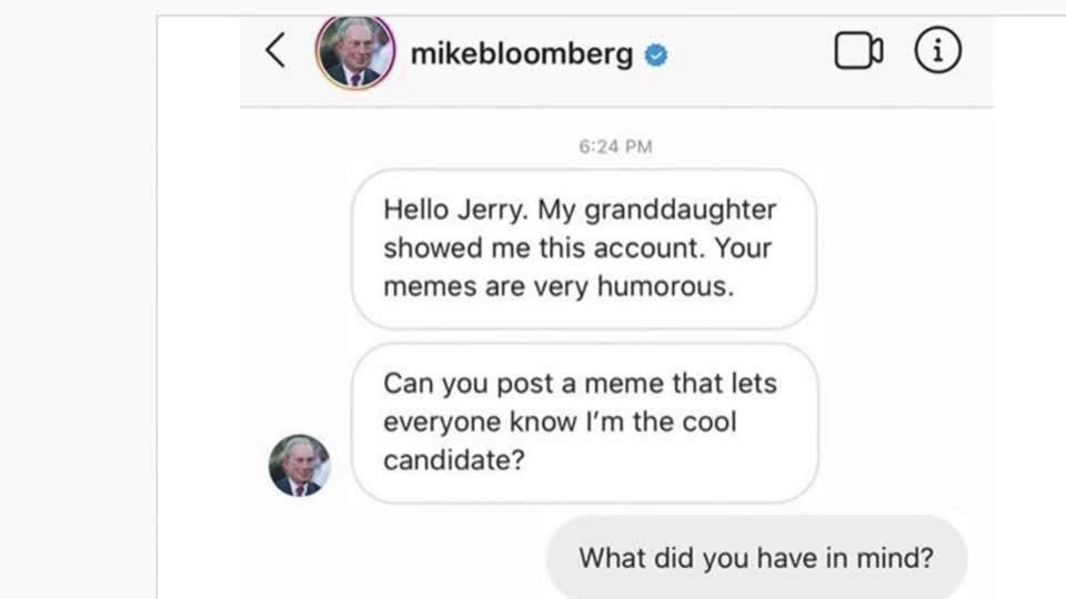 Bloomberg 'meme strategy' sparks Facebook rule change