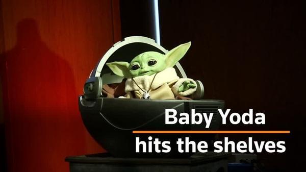 Baby Yoda toy makes its big debut