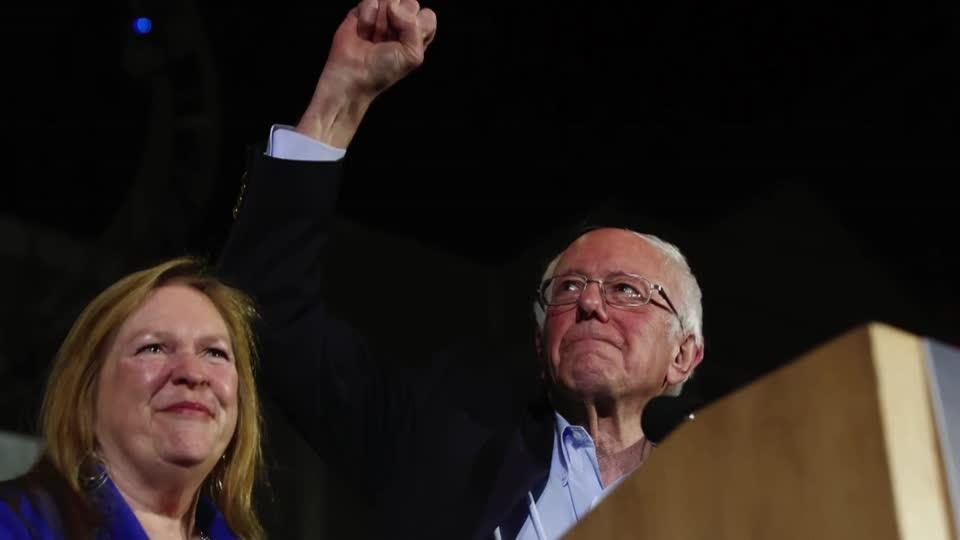 Sanders heads to big win in Nevada