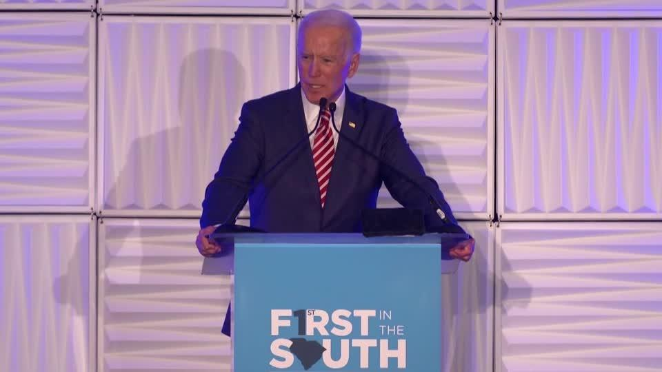 Biden says 'I'm a Democratic candidate for the United States Senate'
