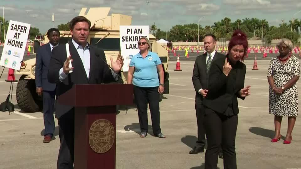 Florida gov: don't bring sick cruise passengers here