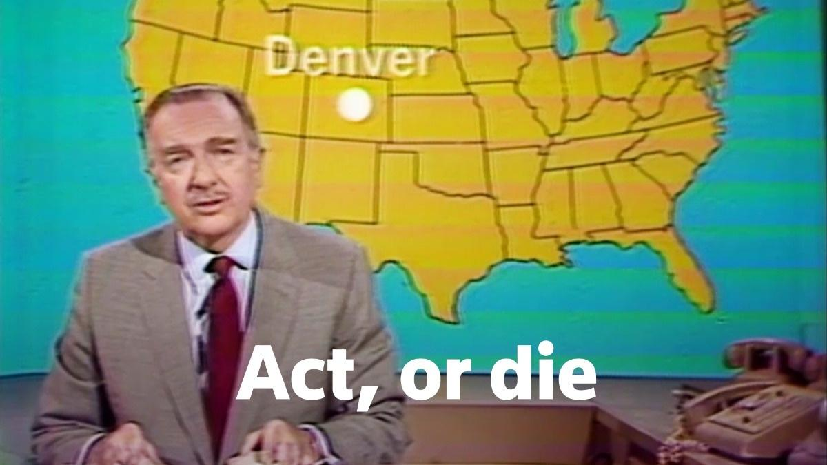 'Act, or Die': Walter Cronkite's First Earth Day