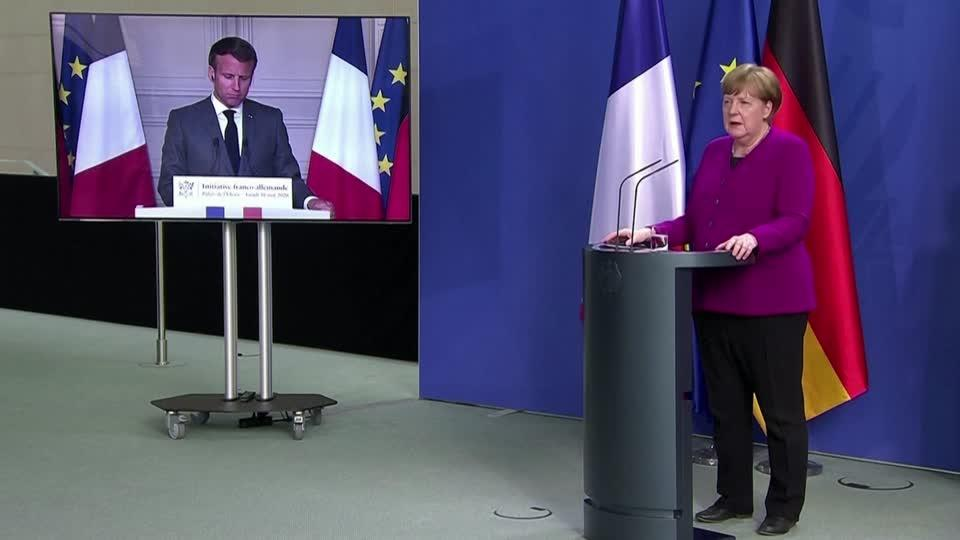 'It's up to us': how Merkel and Macron revived EU solidarity