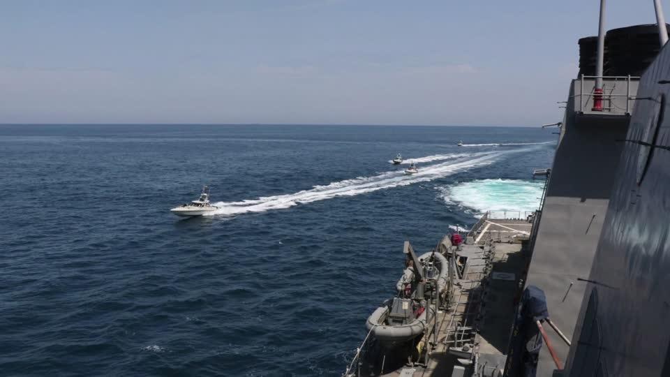 Iran's navy will sail Gulf despite U.S. warning