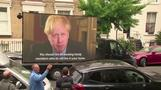 ジョンソン英首相の側近、ロックダウン中に親戚訪問で批判集中(字幕・25日)