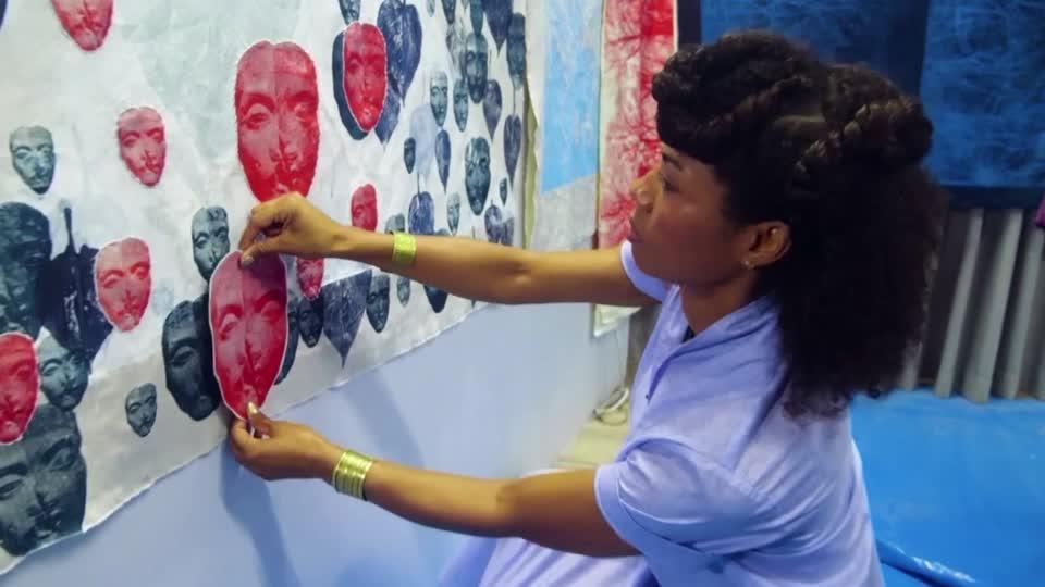 'Black Lives Matter' inspires Ghanaian artist