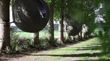 木の中で休暇はいかが、ベルギーで「しずく型」テントが人気(字幕・9日)