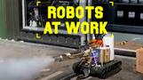 Robots At Work: Call the 'germbusters'