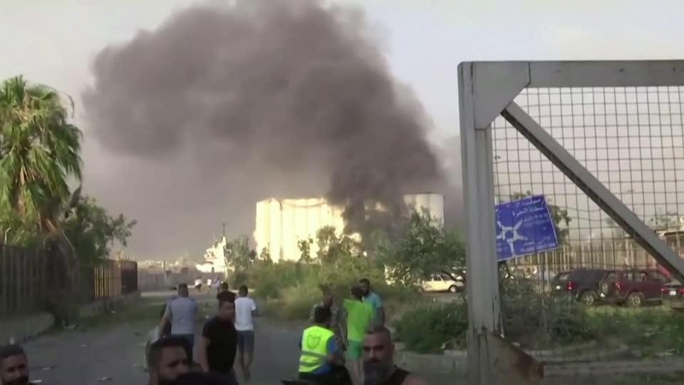 Beirut aftermath shows injuries and mass devastation