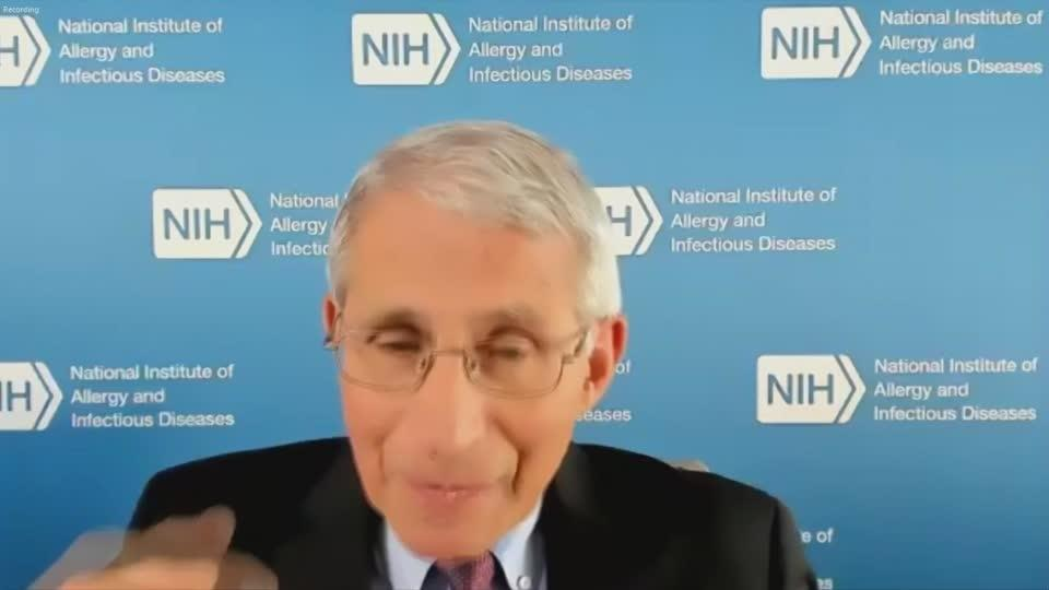 Fauci: 'tens of millions' of vaccine doses by early '21