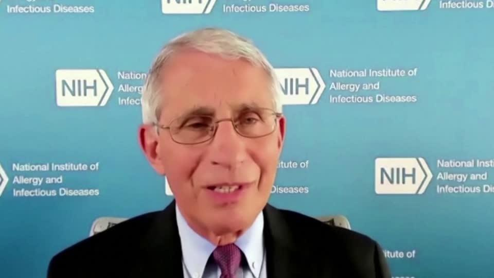 'We can get this behind us' with vaccine - Fauci