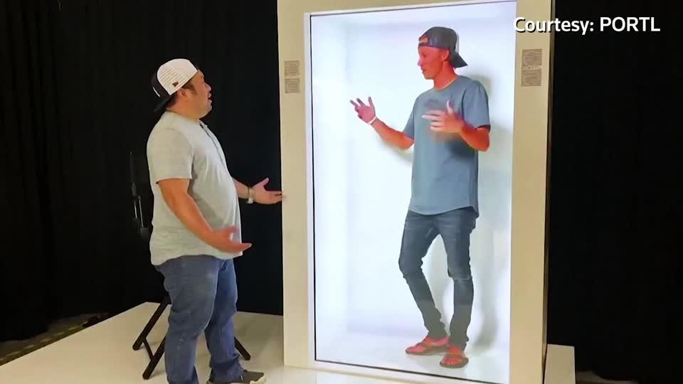 U.S. company offers at-home hologram machines