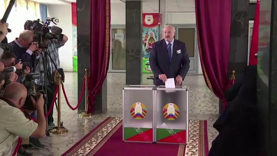 Polls open in Belarus presidential election