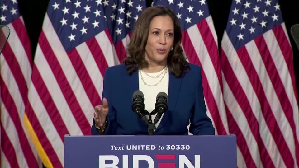Case against Trump, Pence 'open and shut' -Harris