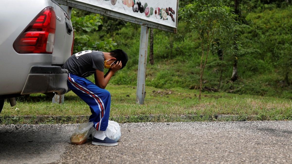 Anguished search for son who vanished at border