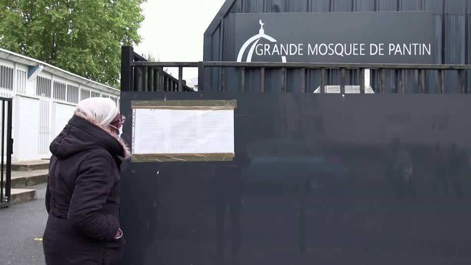 France orders closure of mosque outside Paris.