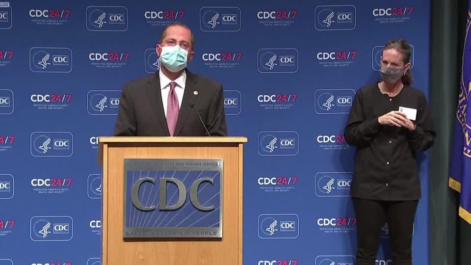 CDC sees 'distressing trend' in COVID-19 cases