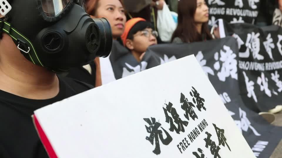 Hundreds rally in Taiwan over 12 HK arrests