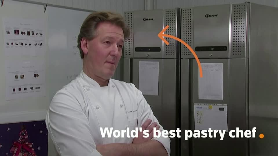 Meet the world's best pastry chef