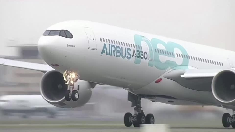 Airbus to stop burning cash, but lockdowns loom