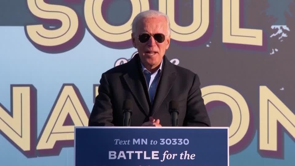 Biden: Trump 'has simply given up' on COVID-19