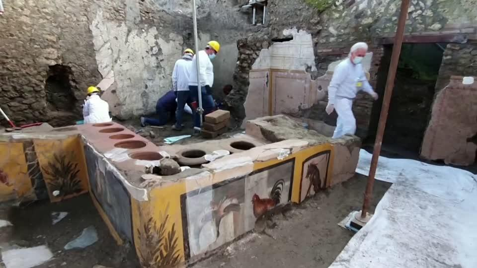 Unearthed: fast food, ancient-Roman style