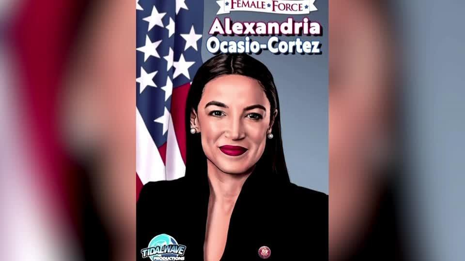 Alexandria Ocasio-Cortez appears in new comic book
