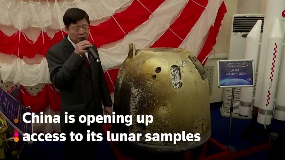 China allows foreign scientists access to moon samples