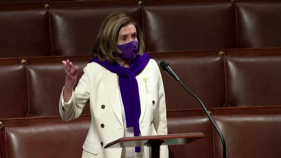 U.S. House to vote soon on COVID-19 bill -Pelosi