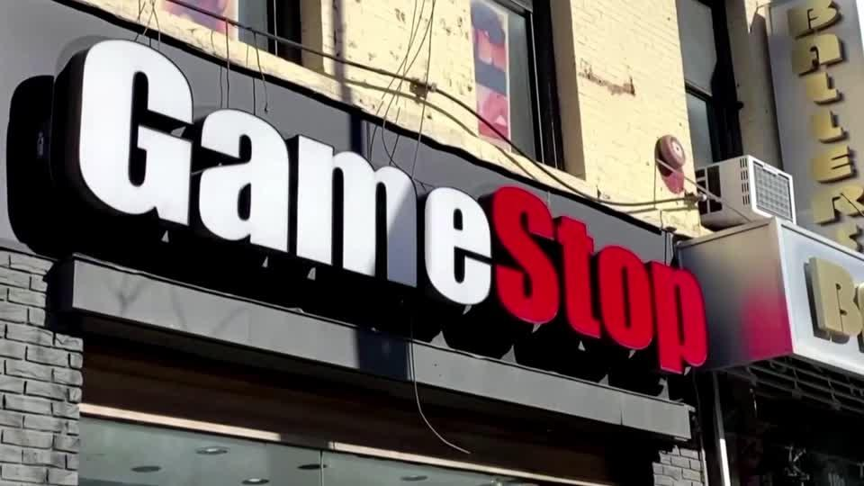 GameStop shares rally for a fifth day