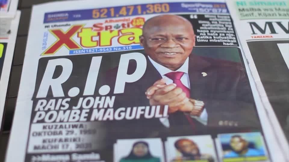 Tanzania reacts to 'the Bulldozer's' death