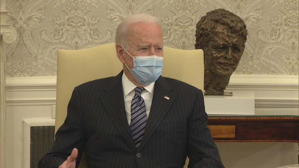 Biden open to 'compromise' on infrastructure plan