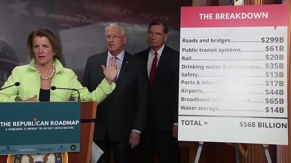 GOP on their infrastructure plan: 'This is a robust package'