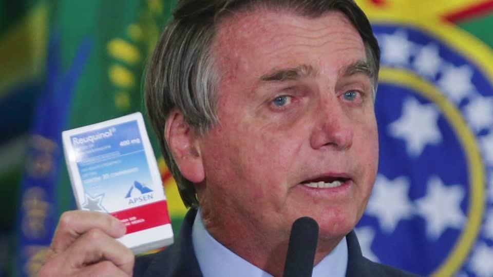 Brazil COVID-19 inquiry focuses on chloroquine