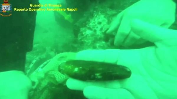 The illegal fishing ruining Capri's iconic sea