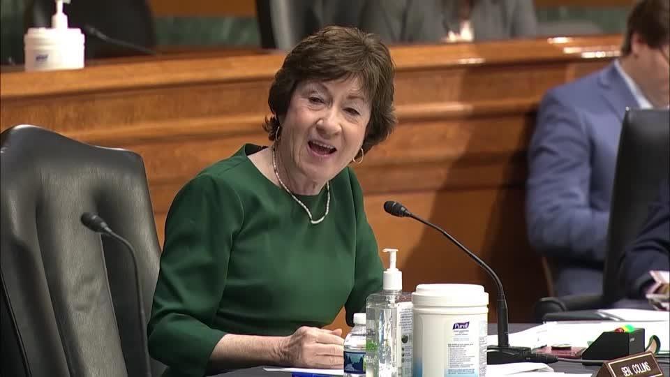CDC no longer 'gold standard' for me -Sen. Collins
