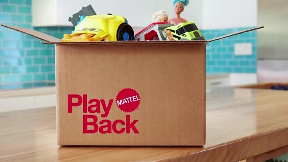 Mattel launches new toy take-back program