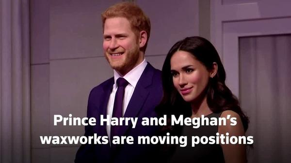 Harry, Meghan's waxworks moved away from royals