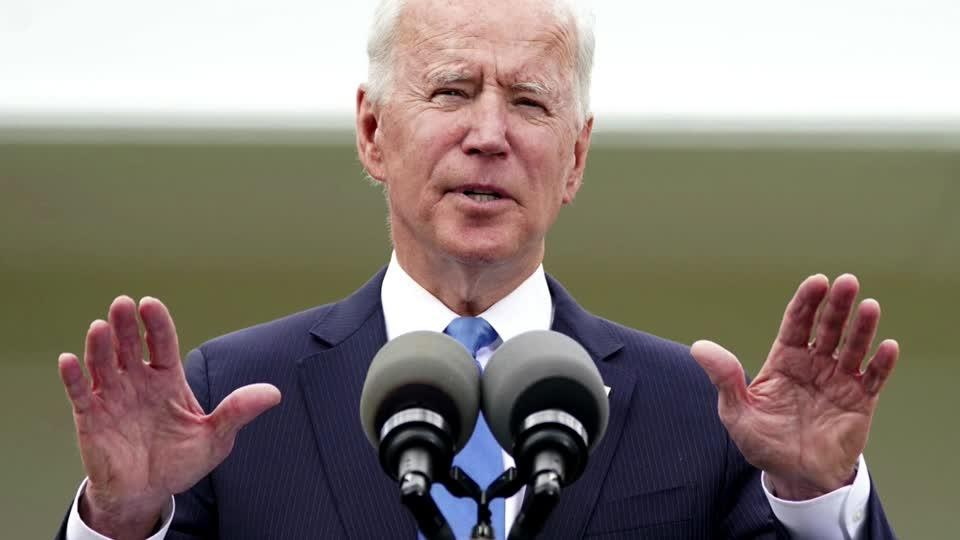 Biden urges calm in calls with Netanyahu and Abbas