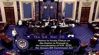 美国参议院共和党阻止成立委员会调查国会骚乱事件
