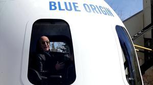 亚马逊创始人贝佐斯下月将搭乘火箭飞往太空
